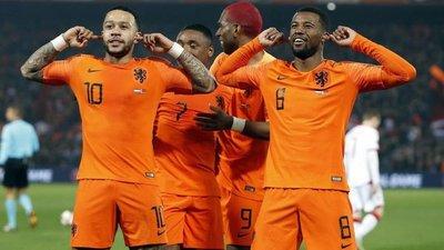 Holanda goleó a Bielorrusia en el inicio de las Eliminatorias para la Euro 2020