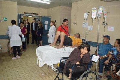 Cooperación apunta a modernizar el Hospital Nacional
