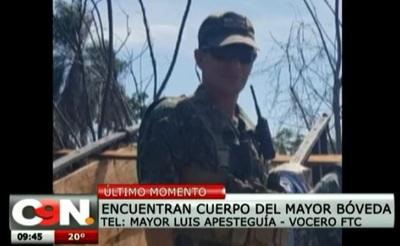 Hallan cuerpo de militar desaparecido en Concepción