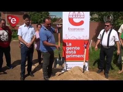 ENCARNACIÓN: INICIAN OBRA DE EMPEDRADO EN ARTERIA DEL B° BUENA VISTA