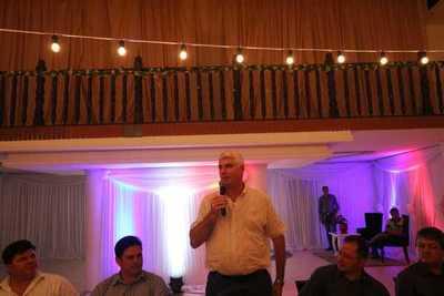 Reunión con intendentes en J. Eulogio Estigarribia