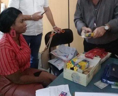 Cae brasileña que intentaba enviar cocaína vía encomienda