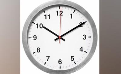 Relojes se atrasarán una hora esta noche