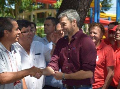 Presidente festejó en Luque y dijo que se acabaron arreos