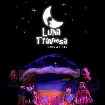 Puesta en escena la obra infantil Luna traviesa en Itauguá