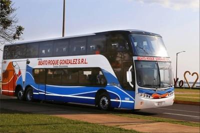 """Pasajeros"" asaltan bus de larga distancia"