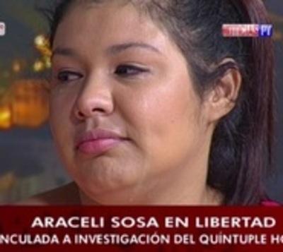 """Araceli Sosa: """"Miraba de dónde colgarme para suicidarme en la cárcel"""""""