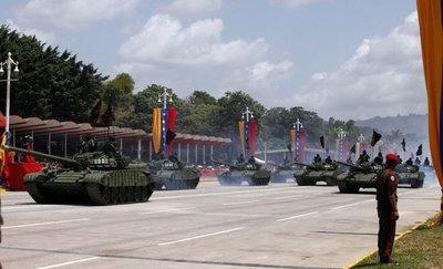 Fuerza militar rusa llega a Venezuela