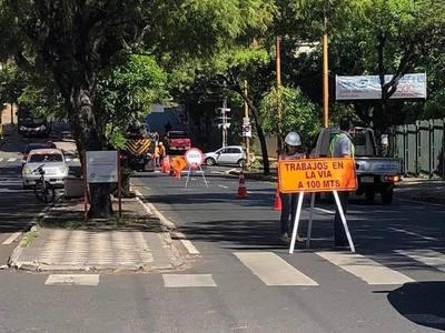 Esta semana continuarán obras de alcantarillado en la capital del país
