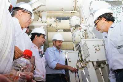 Paraguay inicia trabajos de adecuaciónpara utilizar más energía de Yacyretá