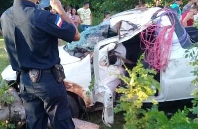 Aumenta cantidad de fallecidos en accidente en Yby Yaú
