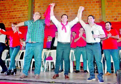 Wilberto Cabañas candidato de la ANR para la intendencia de CDE