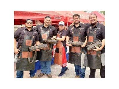 Primer premio para el asado paraguayo