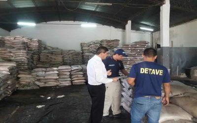 Incautan 200 mil kilos de azúcar presuntamente de contrabando