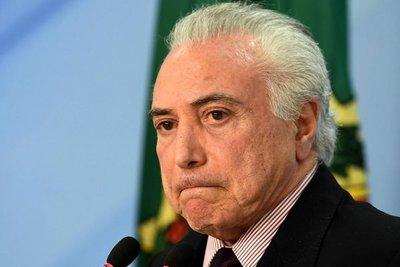 Juez de Brasil ordena liberar al expresidente Michel Temer
