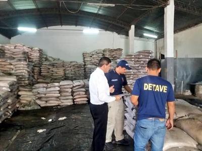 Allanan depósito e incautan azúcar presumiblemente de contrabando