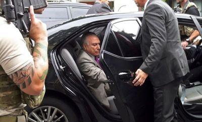 Juez libera al expresidente brasileño Michel Temer