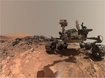 Robot halla en Marte nitrógeno, esencial para la existencia de vida