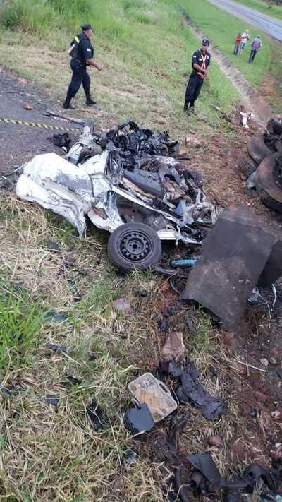 Accidente con derivación fatal en Arroyos y Esteros