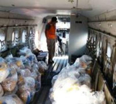 Cifras de damnificados tras temporal trepa a 12.600 familias