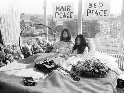 Recuerdan manifestación que hicieron John Lennon y Yoko Ono