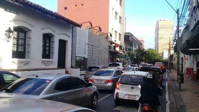 Movilización campesina genera inconvenientes en el tránsito