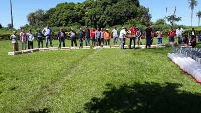 Productores recibieron insumos del MAG en Caaguazú