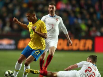 La Selección de Brasil supera a República Checa en amistoso