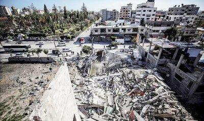 Palestinos de Hamás siguen con su ataque contra Israel