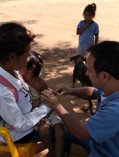 Jornada de atención extramural en comunidad indígena de Itakyry