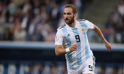 Higuaín se retira de la selección argentina a los 31 años » Ñanduti