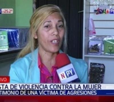 """Mujer clama por justicia: """"Soy sobreviviente de la violencia"""""""