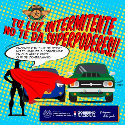 """Caminera advierte con multar a quienes abusan de luces """"pica pica"""""""