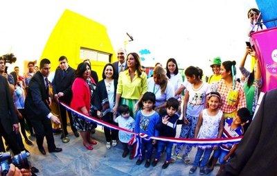 Habilitan centro para niños