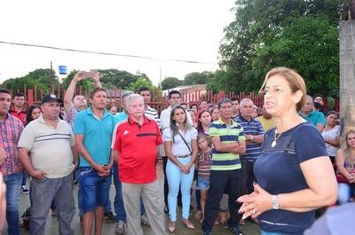 """Lilian realiza """"campaña"""" pidiendo no apoyar al candidato de la lista 1"""