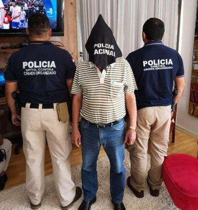 Detienen a conocido empresario vinculado al contrabando