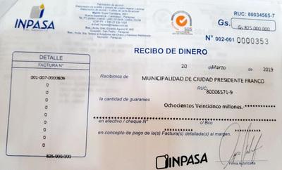 Intendente Godoy aclara que ya saldó deuda por motoniveladora