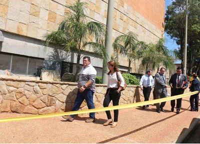Reparación del Palacio de Justicia de Villarrica a cargo de la empresa adjudicada