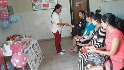 """Habilitan """"Club de Embarazadas"""" en Centro de Salud de Nanawa"""