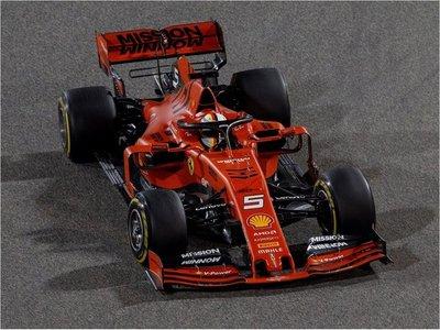Vettel el mejor en los libres de Bahréin