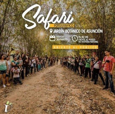 Invitan a safari fotográfico en el Jardín Botánico