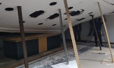 Tardarán 10 días para levantar techo de Juicios Orales del Palacio de Justicia – Prensa 5