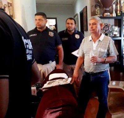 """Detienen en Hernandarias a empresario """"protegido"""" por el anterior Gobierno"""