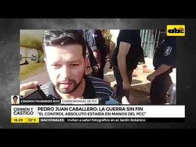 "Pedro Juan Caballero: ""La guerra sin fin"""