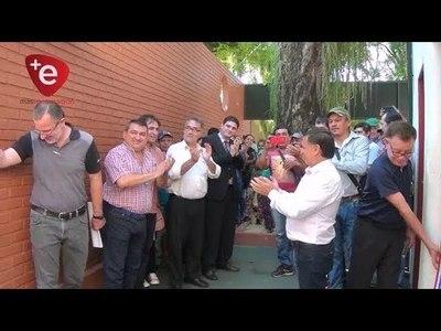 ENCARNACIÓN: INAUGURAN MEJORAS EN EL SINDICATO MUNICIPAL