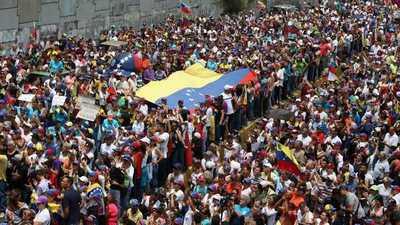 Protestas en diferentes puntos de Venezuela por los apagones