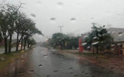 Lluvias y tormentas eléctricas persistirán sobre gran parte del territorio