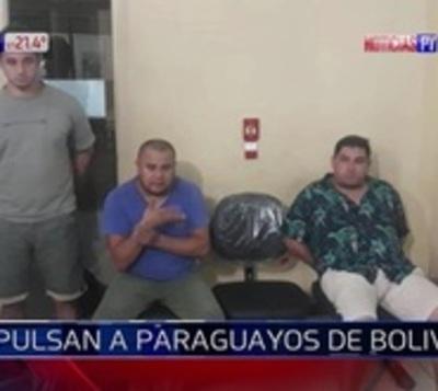 Expulsan a peligrosos delincuentes paraguayos de Bolivia