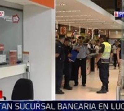 Malvivientes se llevan recaudación de sucursal bancaria en un minuto