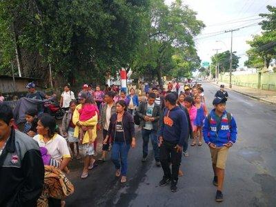 Indígenas marcharán hasta la dirección de la Vicepresidencia de la República